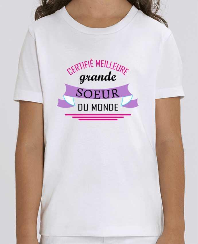 T-shirt Enfant Certifié meilleure grande sœur du monde Par tunetoo