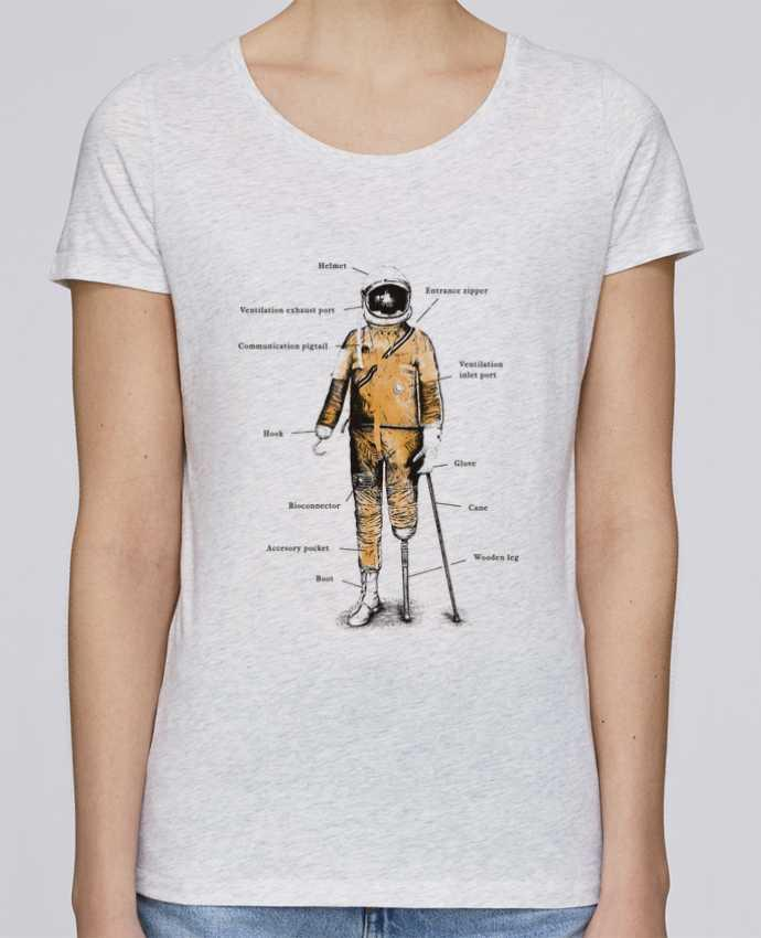 T-shirt Femme Stella Loves Astropirate with text par Florent Bodart