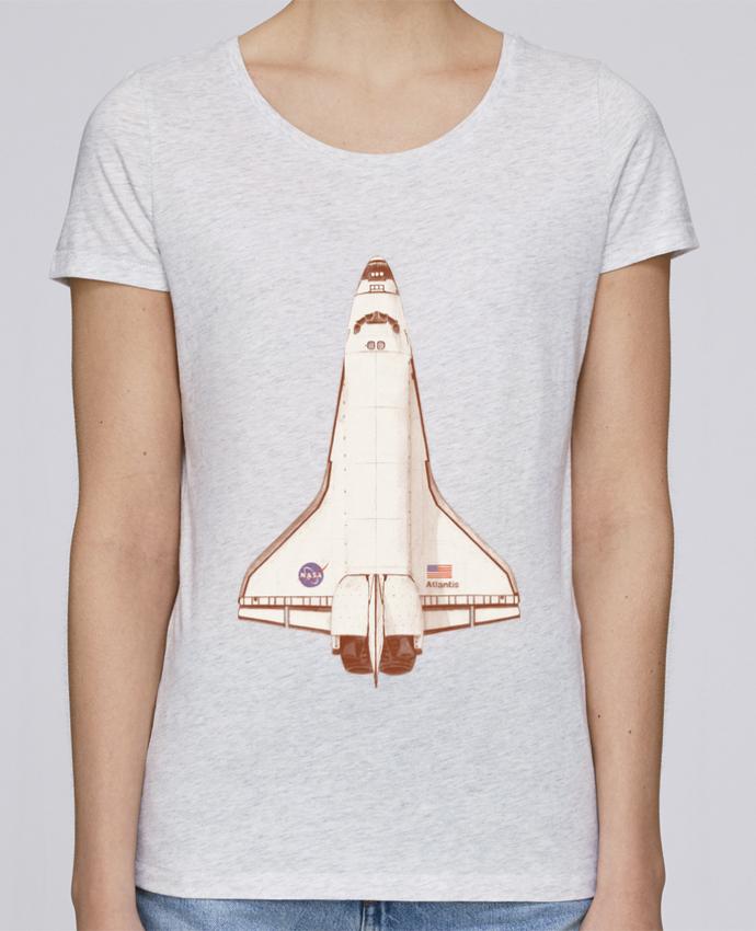 T-shirt Femme Stella Loves Atlantis S6 par Florent Bodart