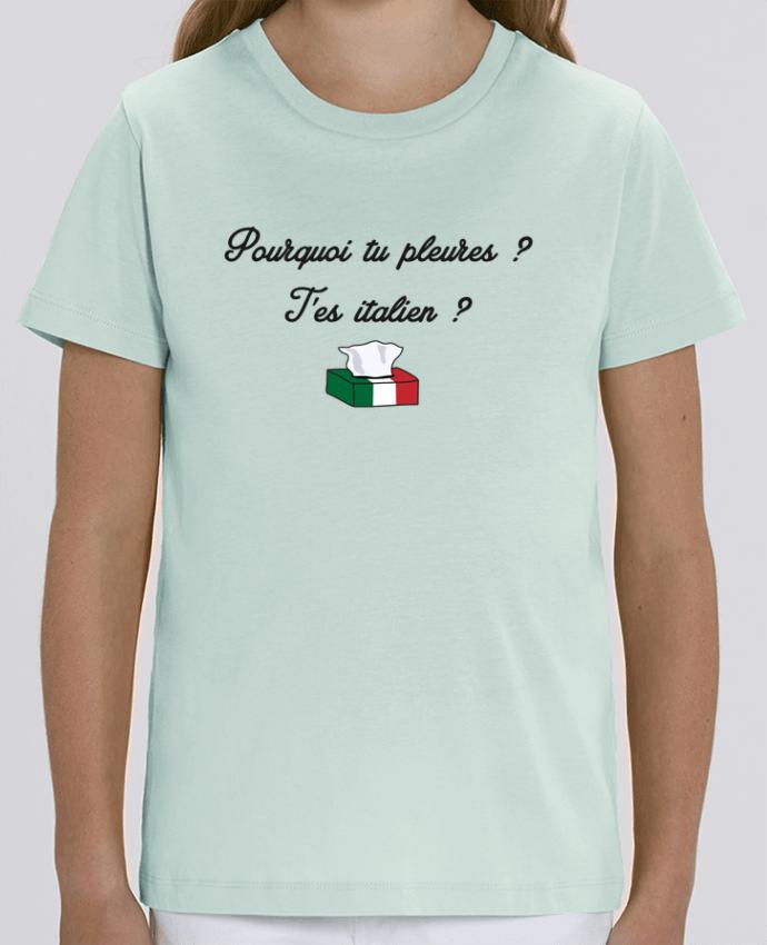 Tee Shirt Enfant Bio Stanley MINI CREATOR Italie Coupe du monde Troll Par tunetoo