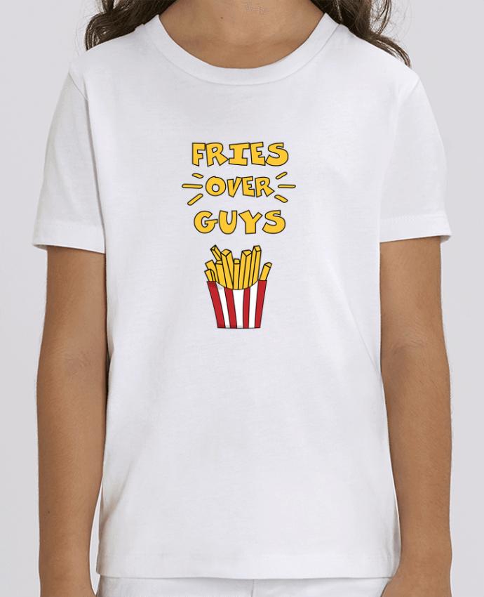 Tee Shirt Enfant Bio Stanley MINI CREATOR Fries over guys Par tunetoo