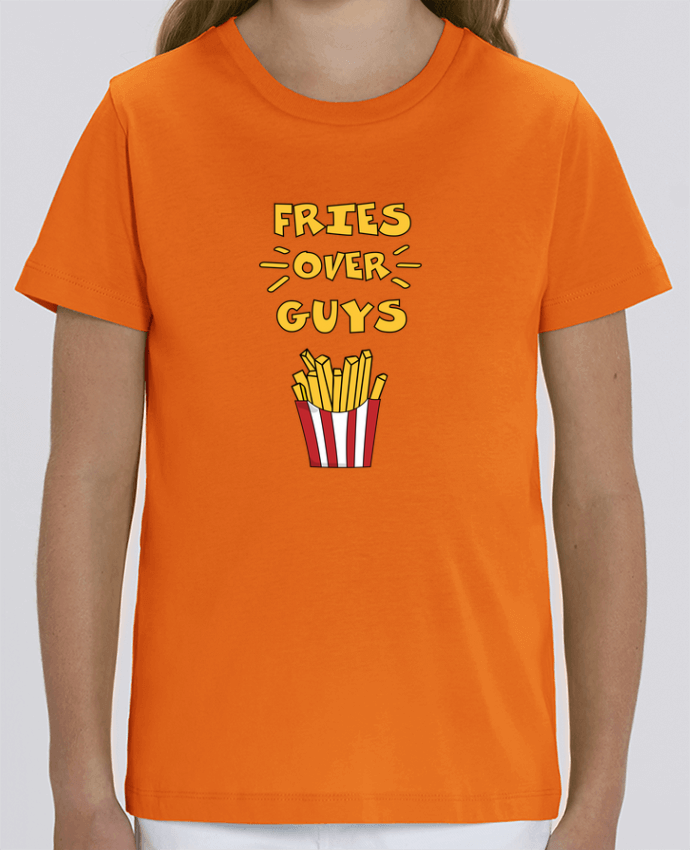 T-shirt Enfant Fries over guys Par tunetoo
