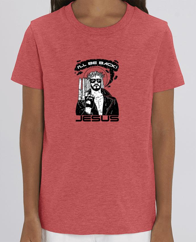 T-shirt Enfant Terminator Jesus Par Nick cocozza