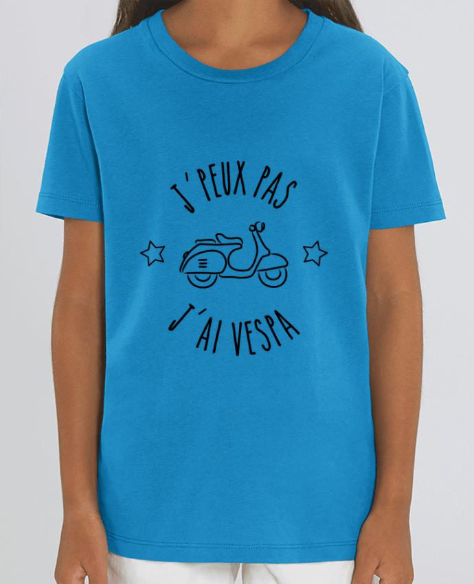 T-shirt Enfant j'peux pas j'ai vespa Par Lamouchenoire
