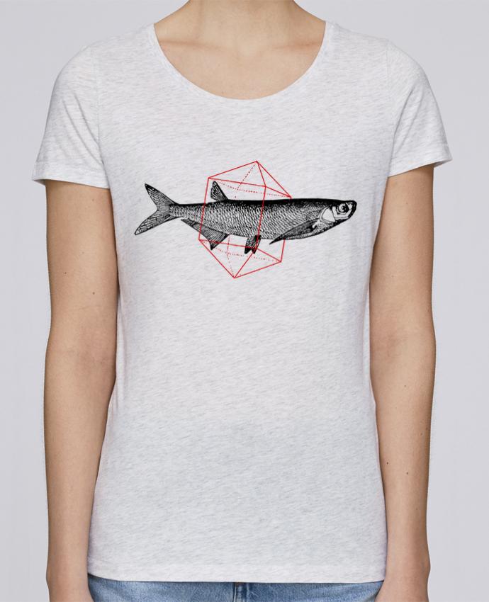 T-shirt Femme Stella Loves Fish in geometrics par Florent Bodart
