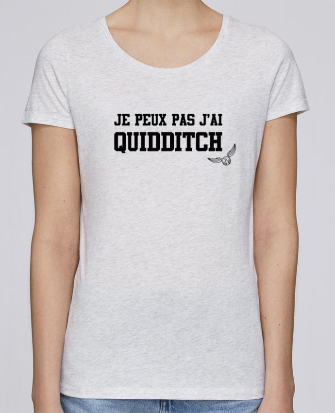 T-shirt Femme Stella Loves Je peux pas j'ai quidditch par tunetoo