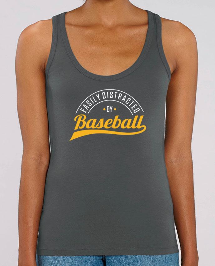 Débardeur Distracted by Baseball Par Original t-shirt