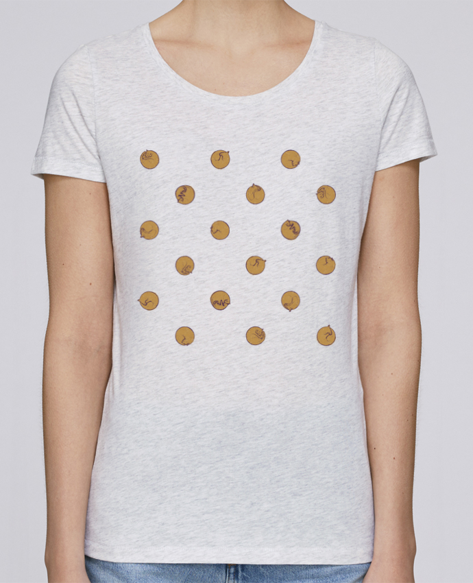 T-shirt Femme Stella Loves Polcats par Florent Bodart