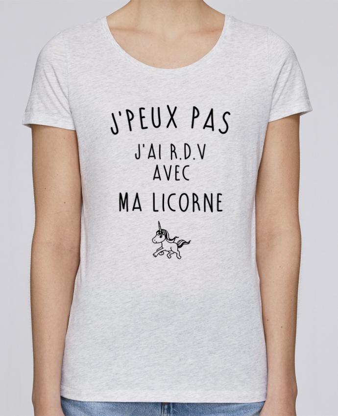 T-shirt Femme Stella Loves J'peux pas j'ai r.d.v avec ma licorne par LPMDL