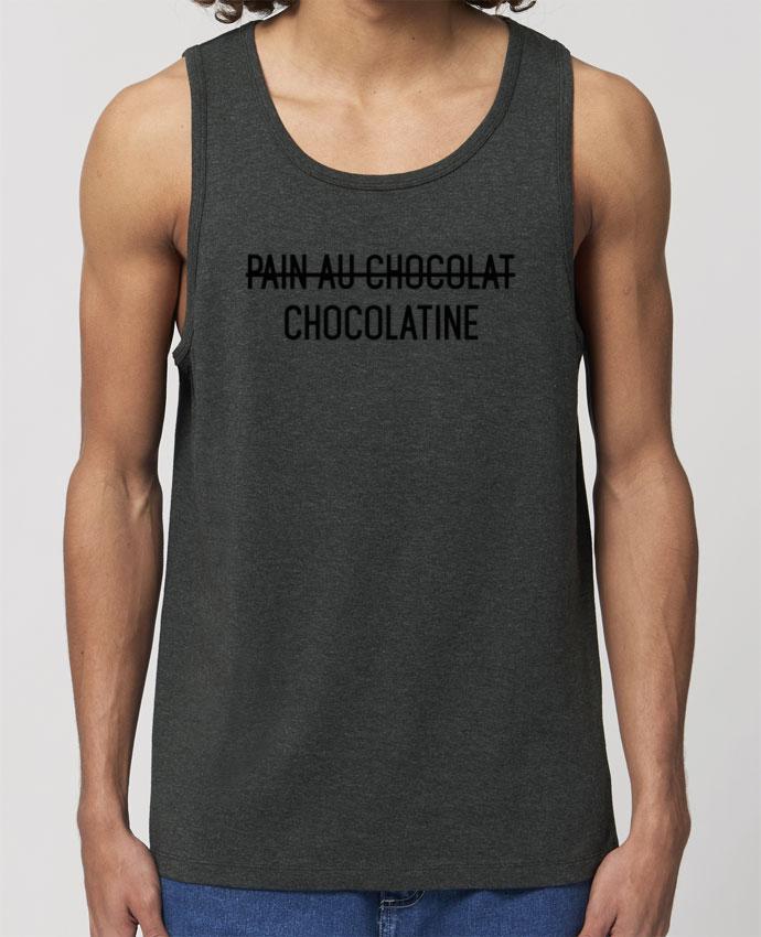 Débardeur Homme Chocolatine Par tunetoo