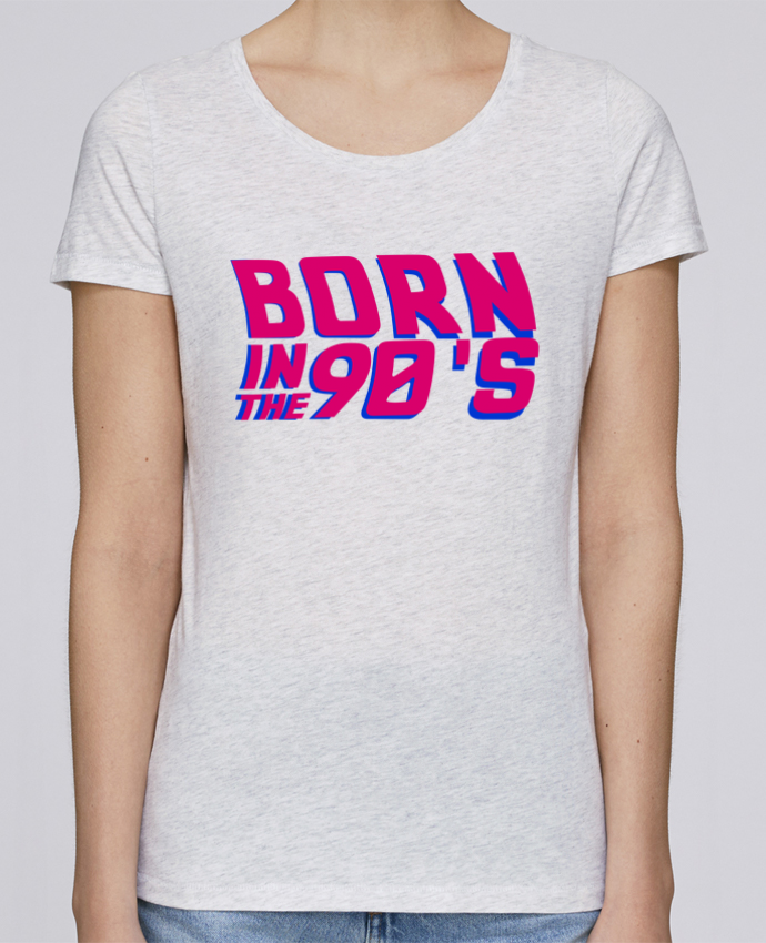 T-shirt Femme Stella Loves Born in the 90's par tunetoo