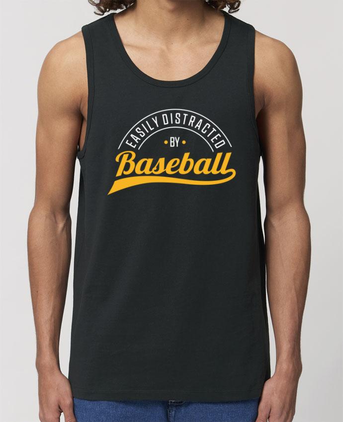 Débardeur Homme Distracted by Baseball Par Original t-shirt