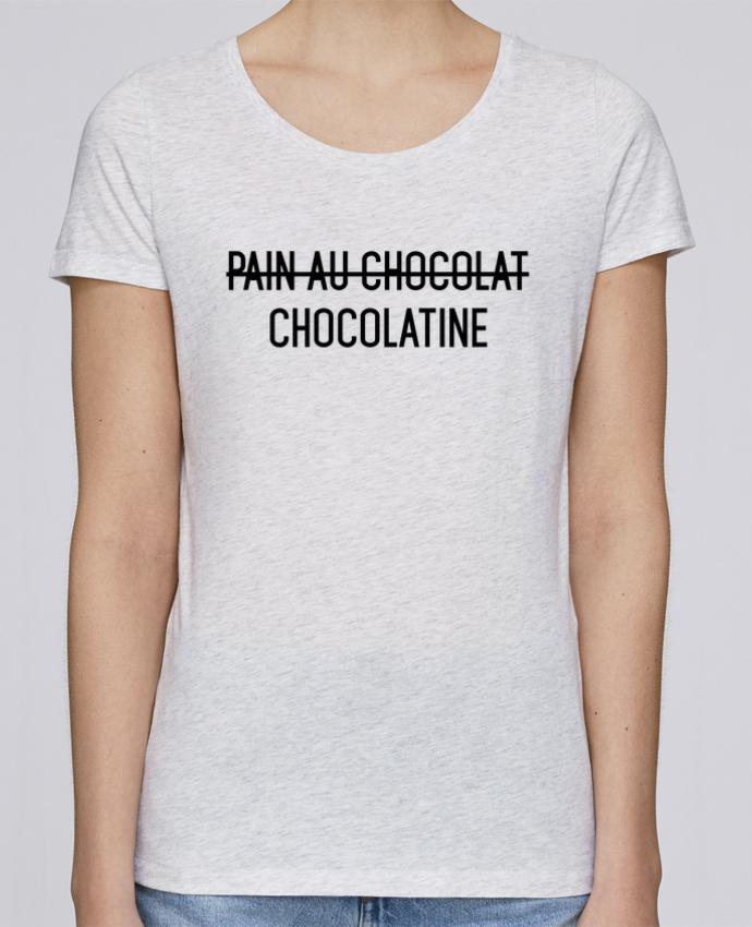 T-shirt Femme Stella Loves Chocolatine par tunetoo