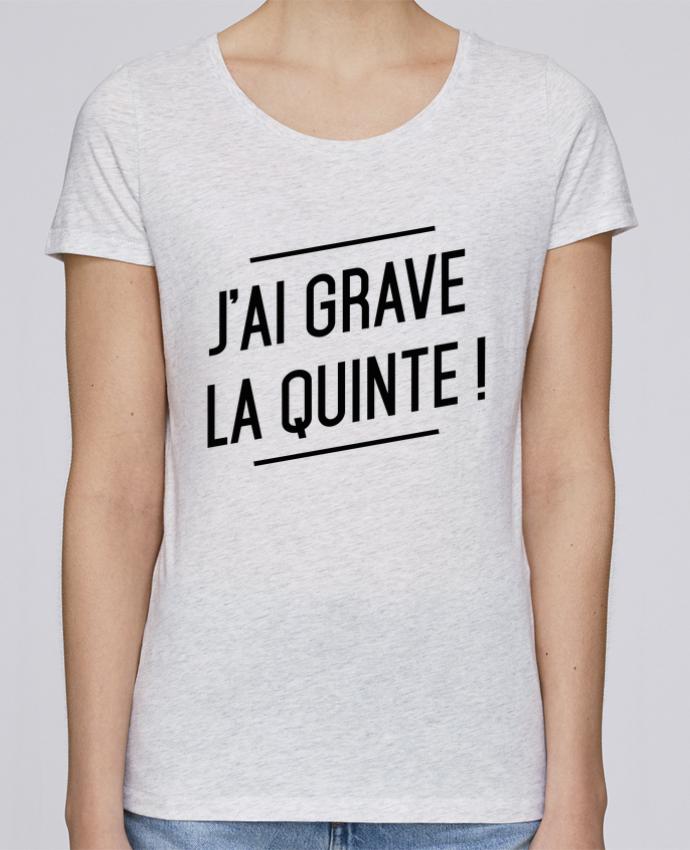 T-shirt Femme Stella Loves La quinte ! par tunetoo