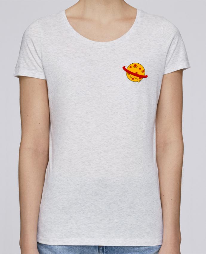 T-shirt Femme Stella Loves Planète Pizza par WBang