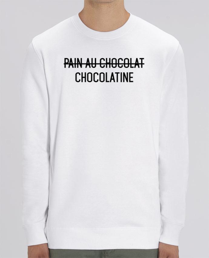 Sweat Col Rond Unisexe 350gr Stanley CHANGER Chocolatine Par tunetoo