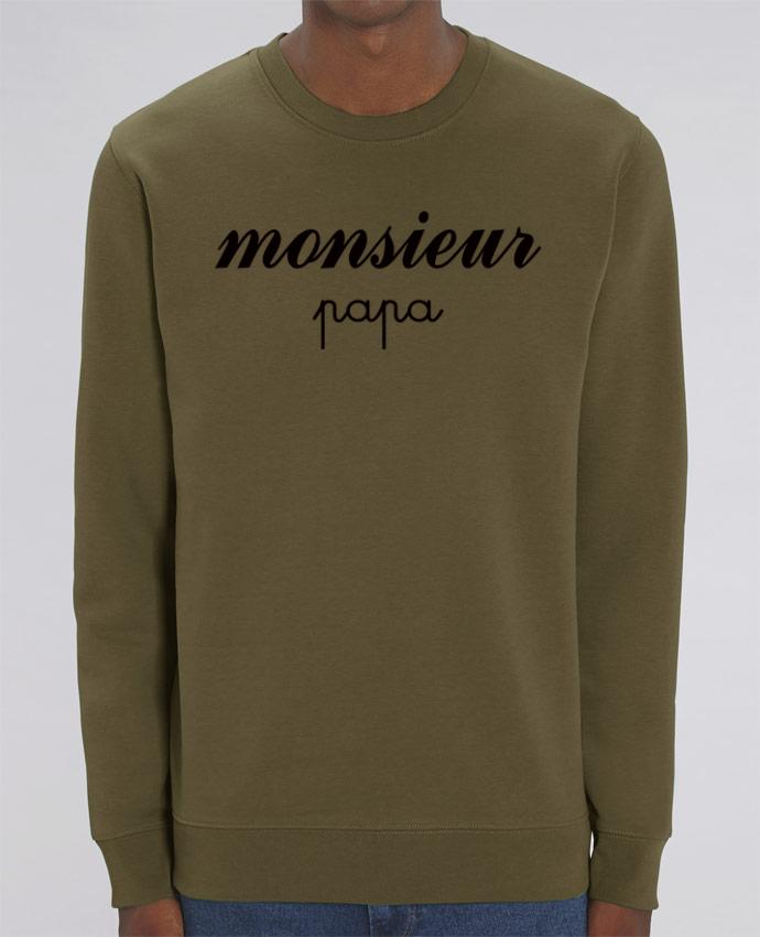 Sweat-shirt Monsieur Papa Par Freeyourshirt.com
