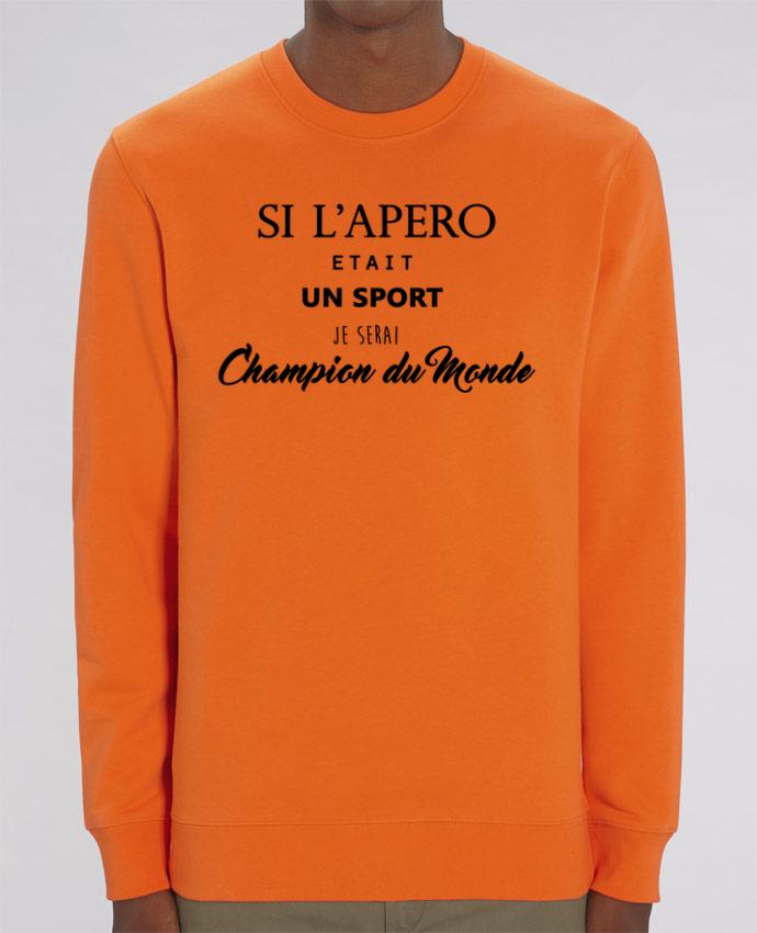 Sweat-shirt apero foot Par DesignMe