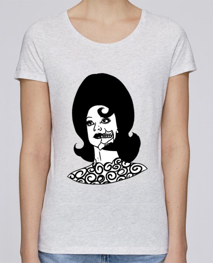 T-shirt Femme Stella Loves Miss Alien par tattooanshort