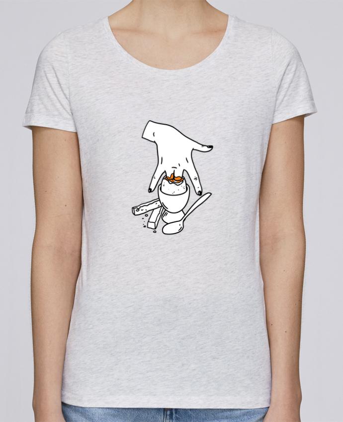 T-shirt Femme Stella Loves Super mouillette ou qui viole un oeuf viole un boeuf par tattooanshort
