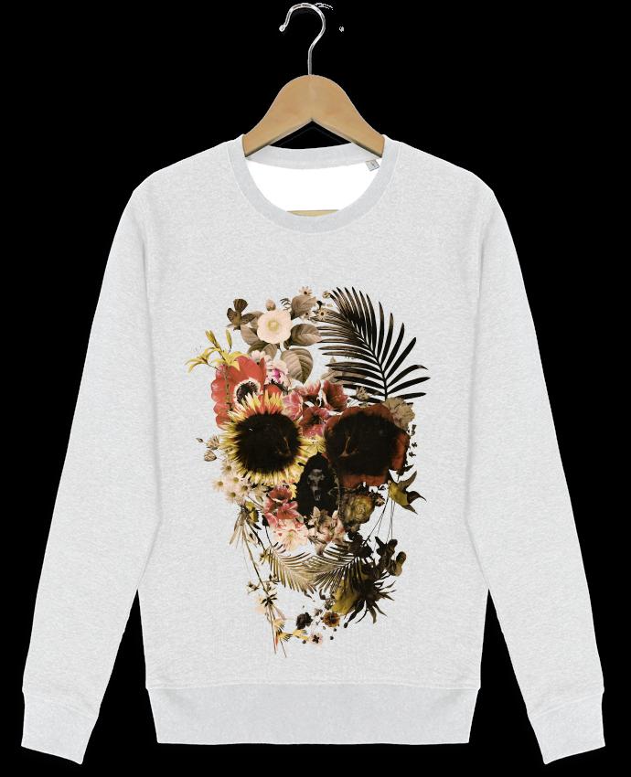 Sweat-shirt Stanley stella modèle seeks Garden Skull par ali_gulec