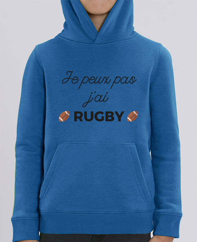 Sweat enfant Je peux pas j'ai Rugby Par Ruuud