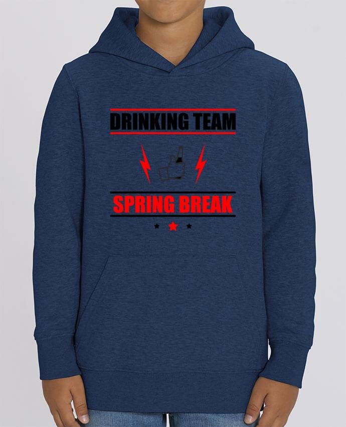 Sweat enfant Drinking Team Spring Break Par Benichan