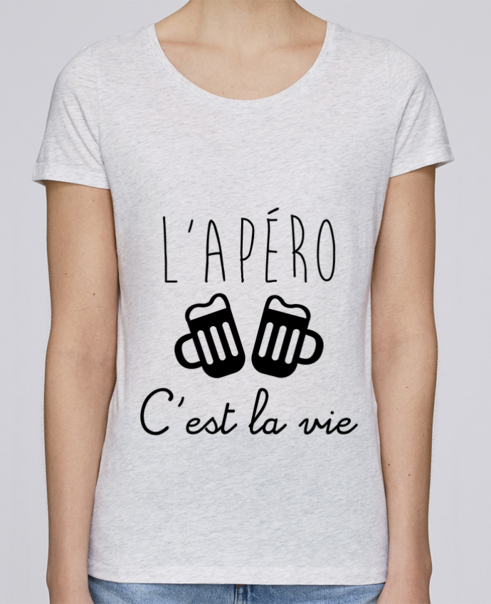 T-shirt Femme Stella Loves L'apéro c'est la vie , humour , alcool , drôle par Benichan