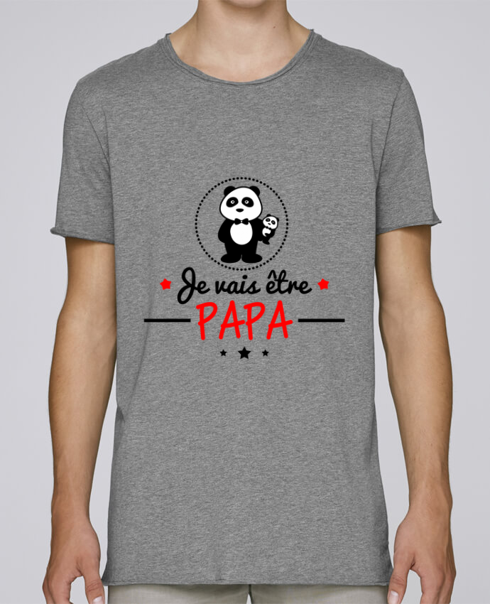 T-shirt Homme Oversized Stanley Skates Bientôt papa , Futur père par Benichan