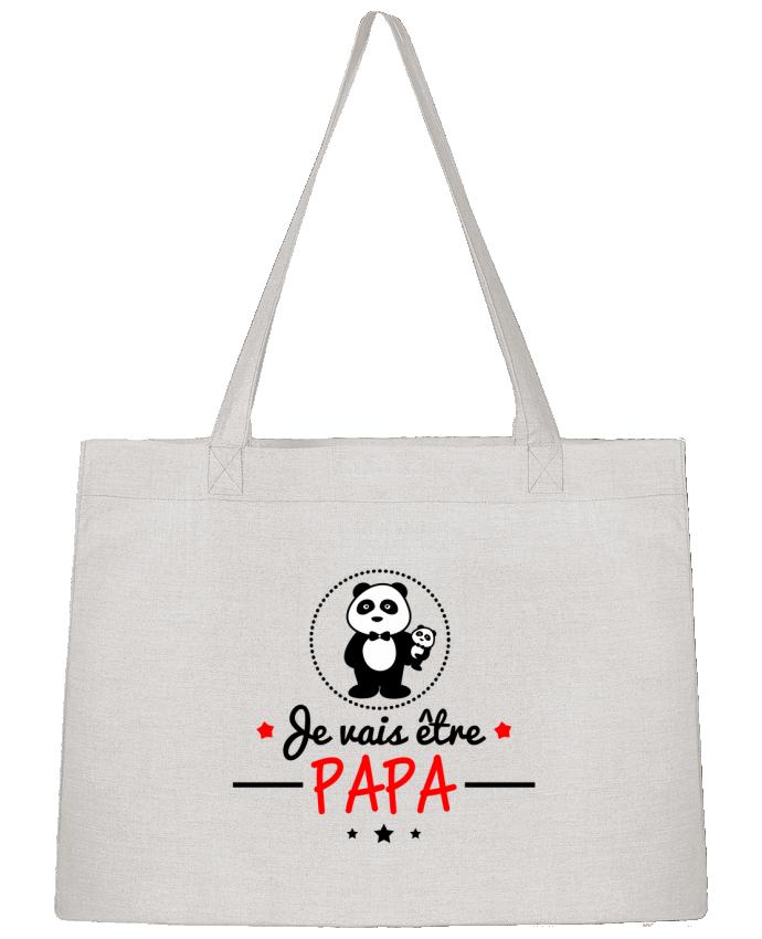 Sac Cabas Shopping Stanley Stella Bientôt papa , Futur père par Benichan