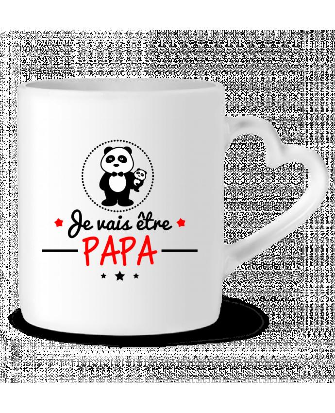 Mug Coeur Bientôt papa , Futur père par Benichan