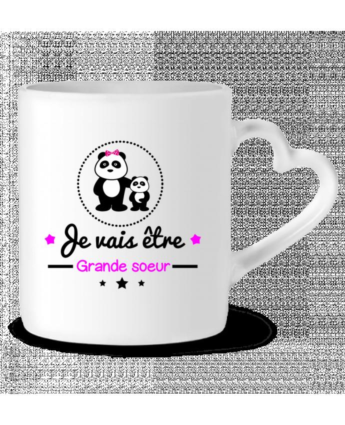 Mug Coeur Bientôt grande soeur - Future grande soeur par Benichan