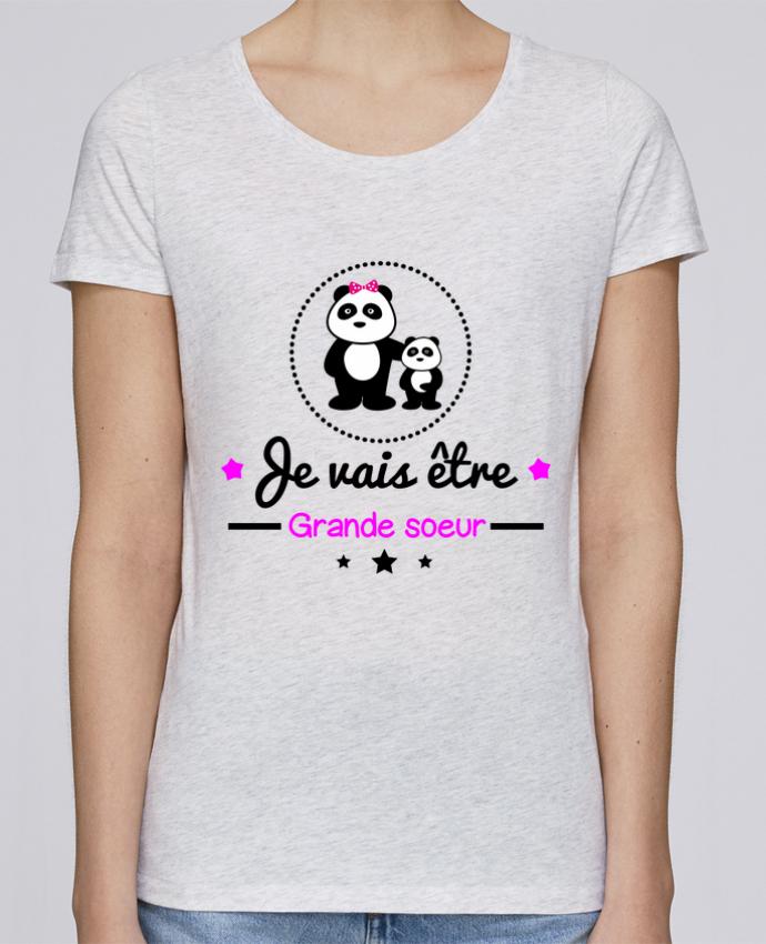 T-shirt Femme Stella Loves Bientôt grande soeur - Future grande soeur par Benichan