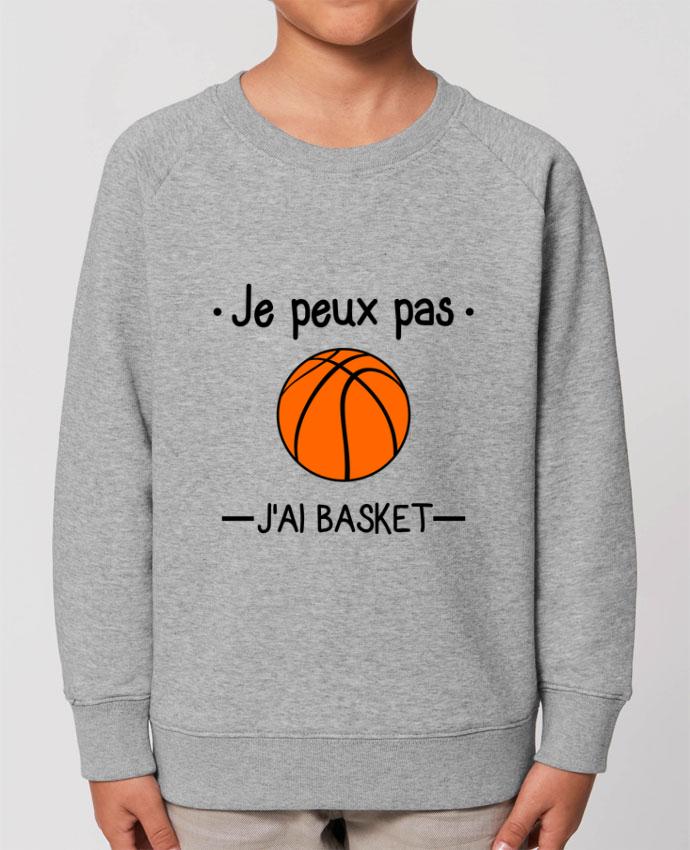 Sweat-shirt enfant Je peux pas j'ai basket,basketball,basket-ball Par  Benichan