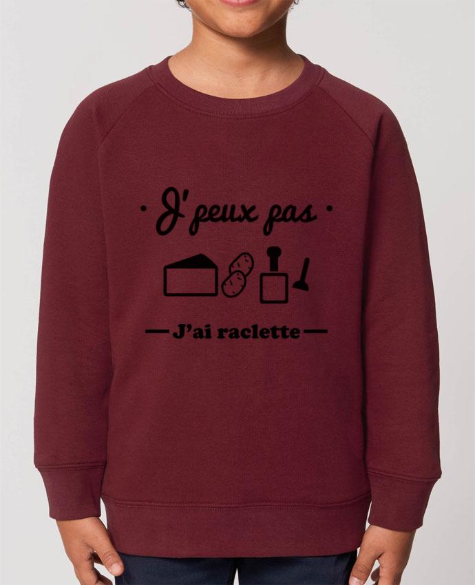 Sweat-shirt enfant J'peux pas j'ai raclette Par  Benichan