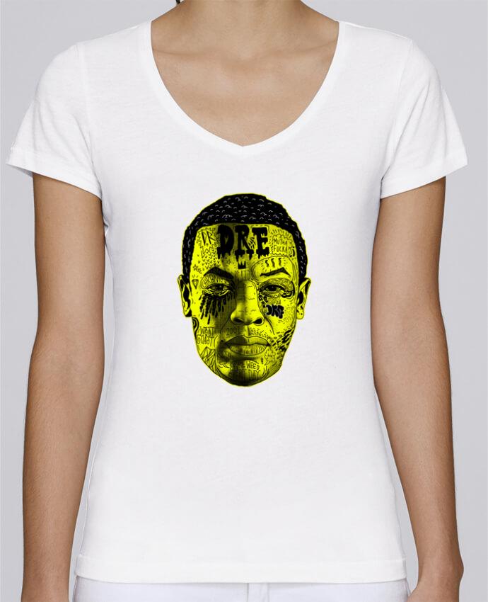 T-shirt Femme Col V Stella Chooses Dr. Dre par Nick cocozza