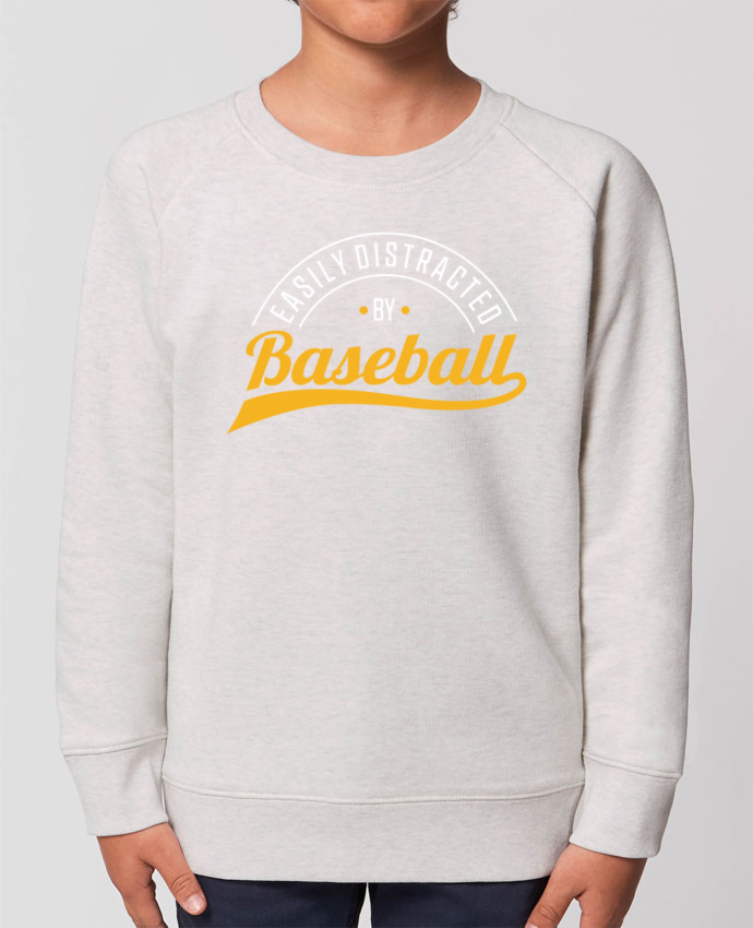 Sweat-shirt enfant Distracted by Baseball Par  Original t-shirt