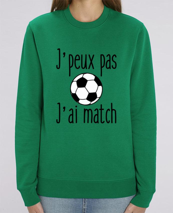Sweat-shirt J'peux pas j'ai match de foot Par Benichan