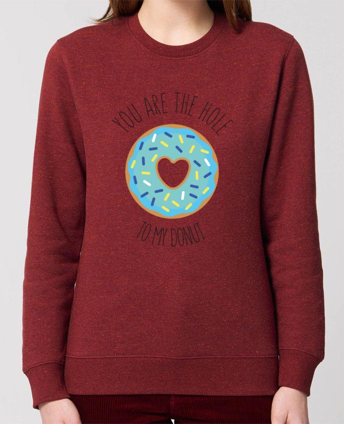 Sweat-shirt Donut coeur Par tunetoo
