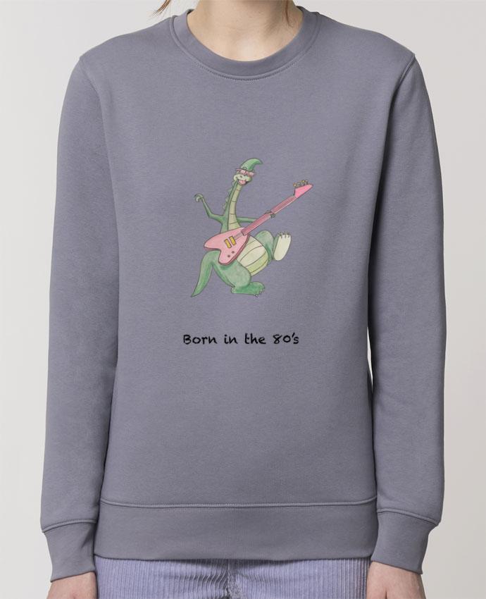 Sweat-shirt BORN IN THE 80's Par La Paloma