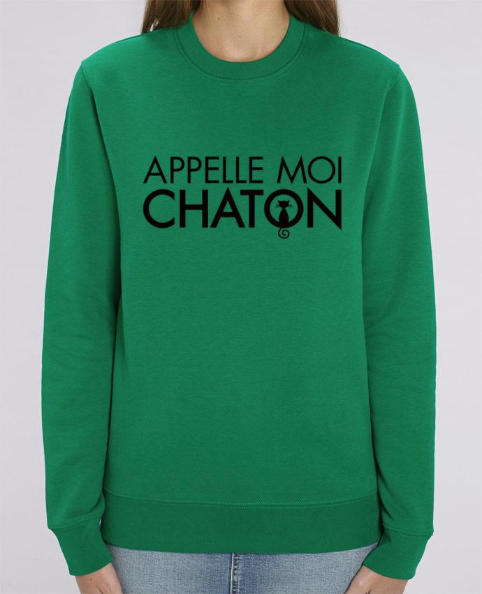 Sweat-shirt Appelle moi Chaton Par Freeyourshirt.com