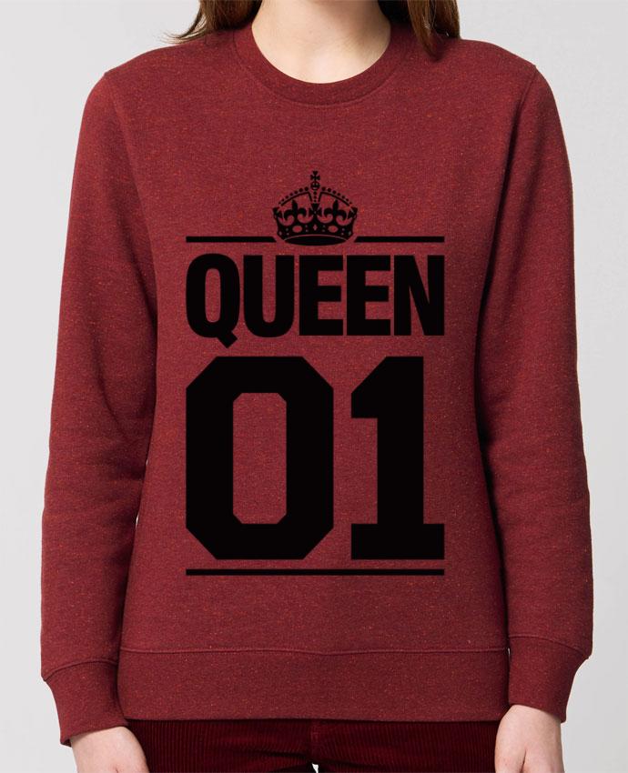 Sweat-shirt Queen 01 Par Freeyourshirt.com