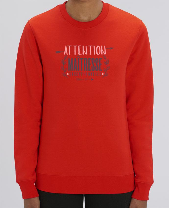 Sweat-shirt Attention maîtresse exceptionnelle Par tunetoo