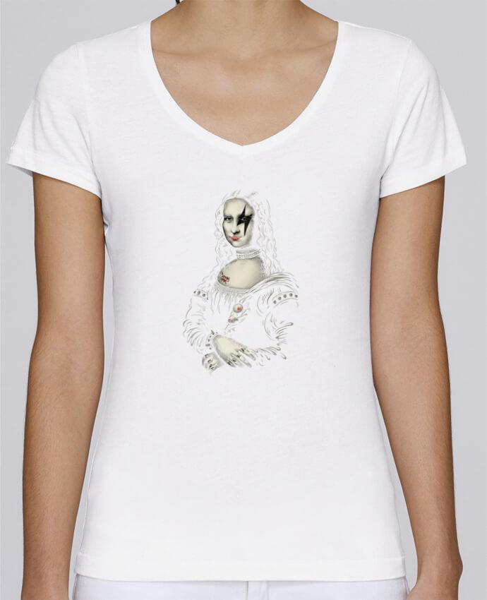 T-shirt Femme Col V Stella Chooses Renaissance Rocks par Enkel Dika
