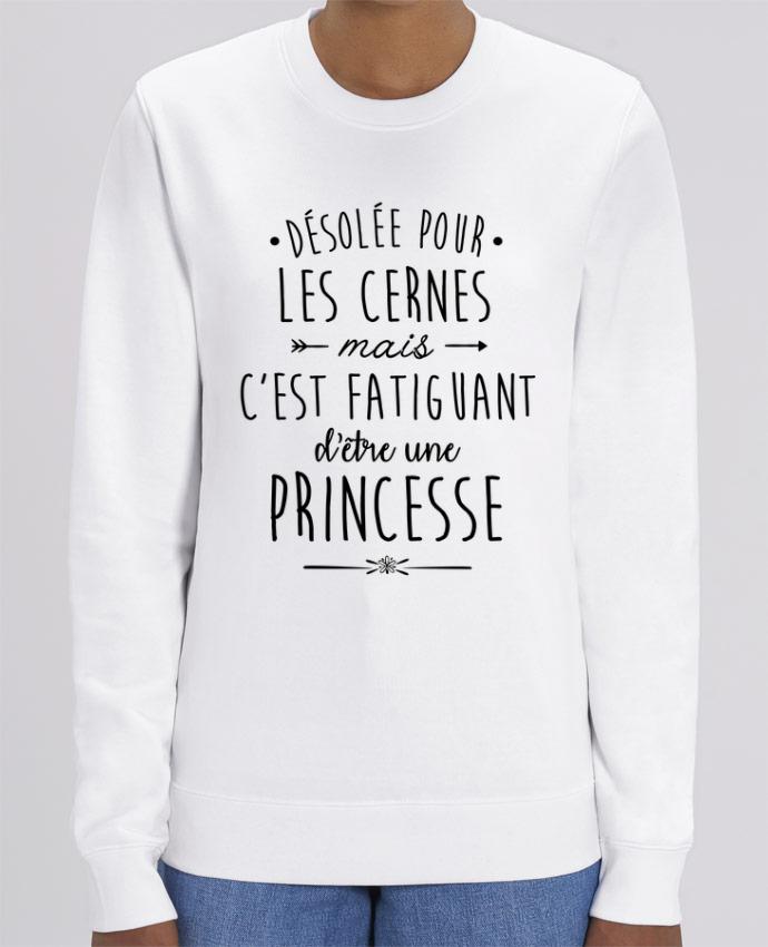 Sweat-shirt C'est fatiguant d'être une princesse Par La boutique de Laura