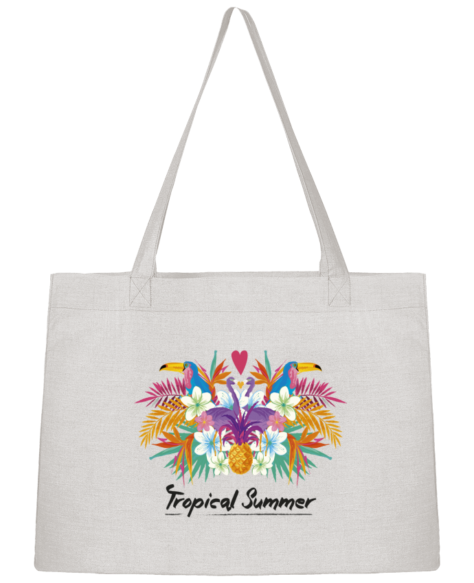 Sac Cabas Shopping Stanley Stella Tropical Summer par IDÉ'IN