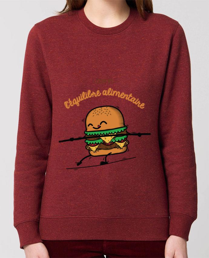 Sweat-shirt Equilibre alimentaire Par PTIT MYTHO