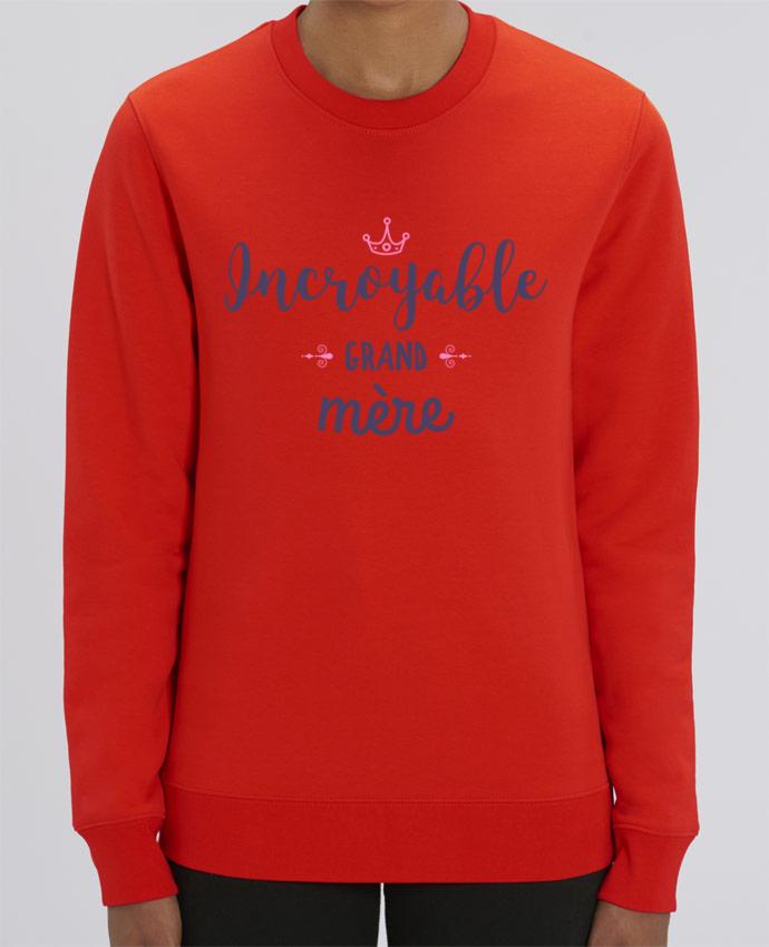 Sweat-shirt Incroyable grand-mère Par tunetoo