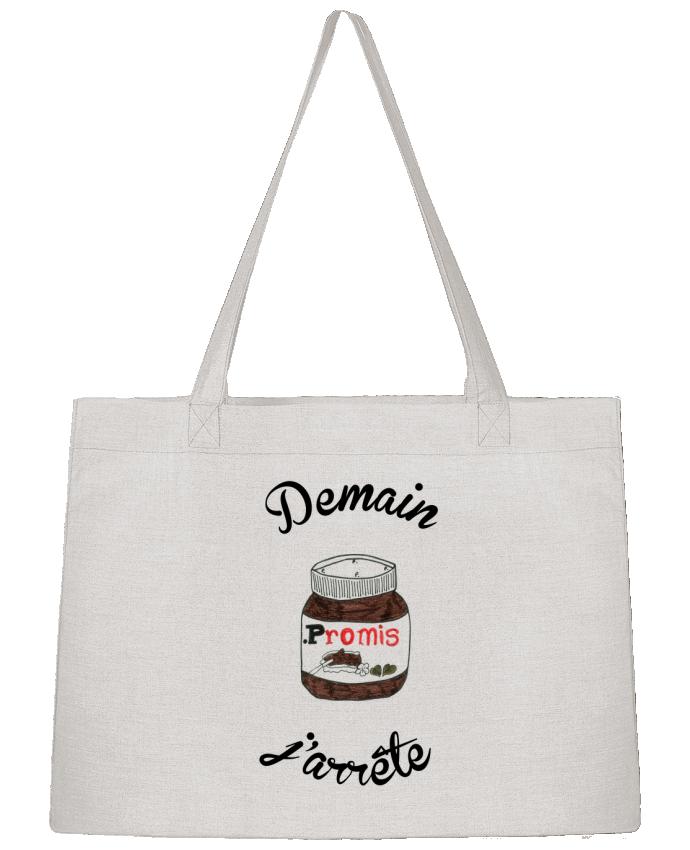 Sac Cabas Shopping Stanley Stella Demain j'arrête le Nutella par Promis