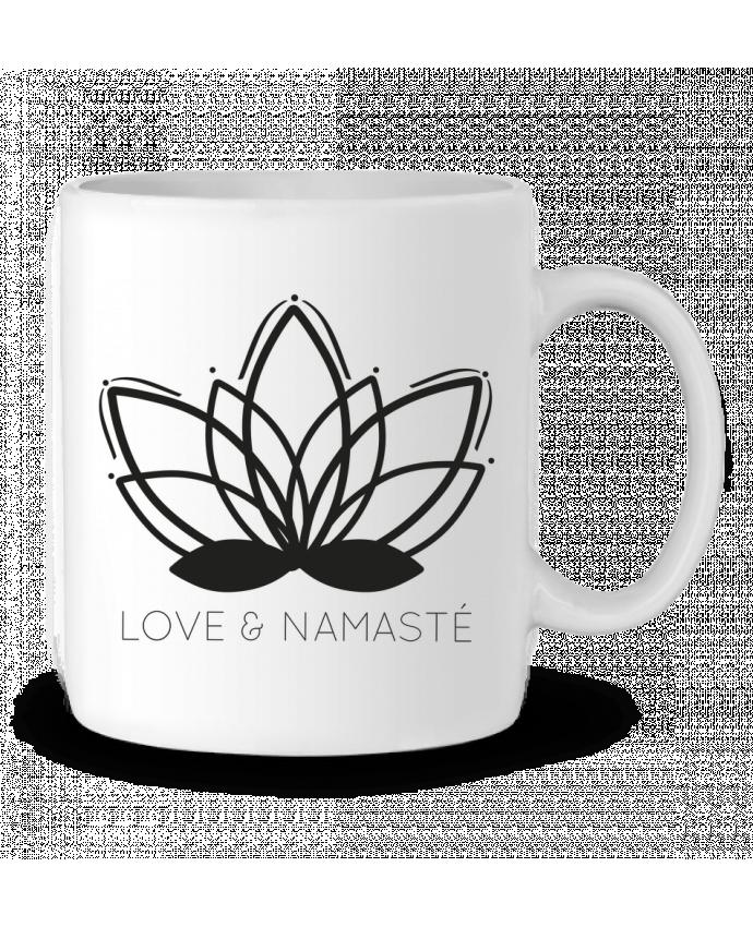 Mug en Céramique Love & Namasté par IDÉ'IN